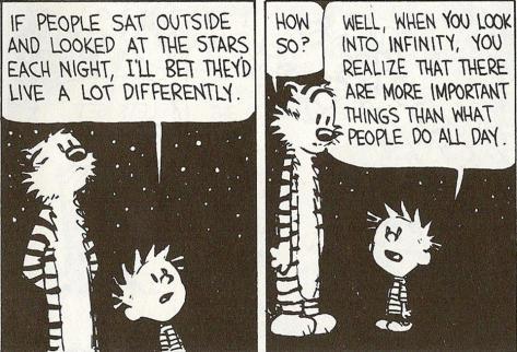 So much, a comic strip can teach you